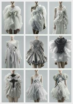 Sewing Inspiration Projects Life 63 Best Ideas sewing is part of Fashion - 3d Fashion, Fashion Details, Couture Fashion, High Fashion, Fashion Show, Womens Fashion, Fashion Design, Origami Fashion, Style Fashion