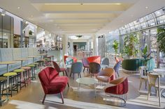 Here in the vibrant heart of Helsinki, Restaurant Teatteri is an icon. This restaurant complex is known for the unique way of bringing together people,. Design Projects, Restaurant, Chair, Interior, Table, Furniture, Behance, Branding, Home Decor