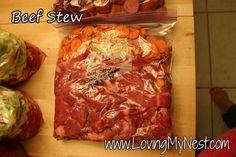 Beef Stew - Loving My Nest