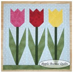 Apple Avenue Quilts: Free 2012 Block of the Month -- LOVE LOVE LOVE