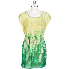 Soprano Juniors Tie-Dye Print Chiffon Dress #VonMaur