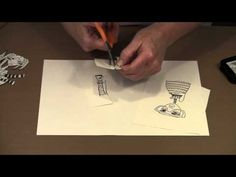 Dylusions Stamps: Mix & Match Figures To Create - YouTube