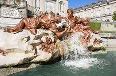Fuente en el palacio de La Granja de San Ildefonso