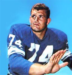 Larry Hand Detroit Lions 1965-77.