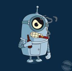 Bender minion from Futurama