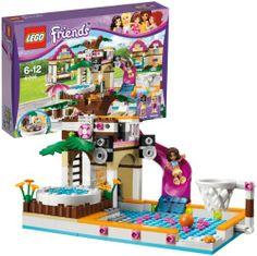 LEGO 41008 Friends: Großes Schwimmbad  http://www.meinspielzeug24.de/lego-41008-friends-grosses-schwimmbad  #LegoFriends, #Mädchen #BaukastenSpielsets, #Spielwaren