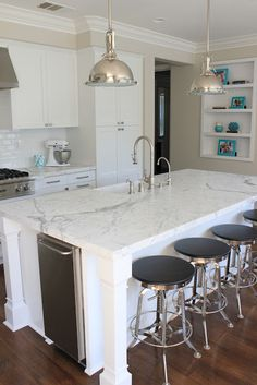 I love the counter tops!