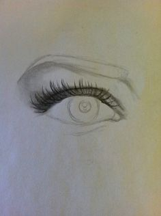Add the top eyelashes, length will vary