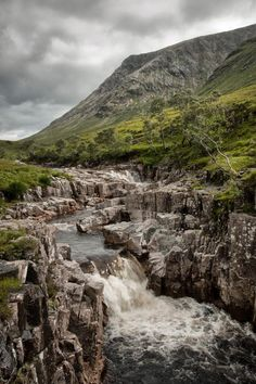 Rugged & Wet Glen Etive, Scotland's Highlands