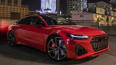 BEAST! NEW 2021 AUDI RS7 SPORTBACK - 600HP V8TT - SO BEAUTIFUL! TANGO RE... Rs6 Audi, Audi Rs7 Sportback, All Cars, Tango, Luxury Cars, Dream Cars, Beast, Classic Cars, Red Black