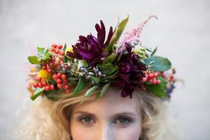 ❀ Flower Maiden Fantasy ❀ beautiful art fashion photography of women and flowers - How to make a floral crown // The House That Lars Built. Beltane, Mother Nature Costume, Floral Headpiece, Floral Hair, Flowers In Hair, Headband Flowers, Floral Headbands, Real Flowers, Her Hair