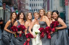 Red And Gray Wedding Dresses - Bing Images