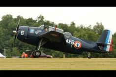 Grumman TBM-3E Avenger HB-RDG, in French Aeronavale colours, Meeting de la Ferte-Alais 2011.
