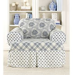 Love the comfy chair, but not the pattern.