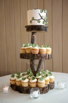 Stand Up and Make a Statement with Rustic Wedding Cake Stands for Wedding - Partyspace.coms blog