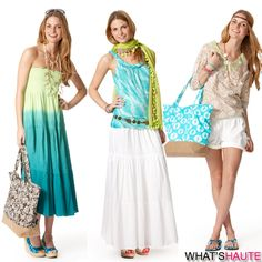 beach resort wear for women | Calypso-St.-Barth-for-Target-collection-dresses-maxi-skirts-shorts ...
