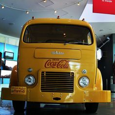 1949 White Motor Company Coca-Cola delivery truck: Front View by World of Coca-Cola, via Flickr