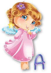 ange-A-1.gif 3 Gif, Cute Alphabet, Thing 1, Love You Forever, Love You All, A 17, The Fool, My Music, Princess Peach