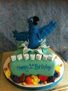 Party and event ideas and inspirations Rio Birthday Parties, Birthday Cakes, Rio Cake, Party, Desserts, Inspiration, Food, Short Stories, Tailgate Desserts
