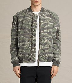 ALLSAINTS Malin Bomber Jacket. #allsaints #cloth #