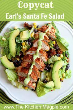 Copycat Earl's Santa Fe Salad - The Kitchen Magpie