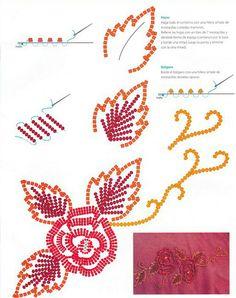 Декор плеча одежды бисером и стразами - Perchinka63
