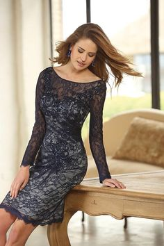 Navy Lace at Olivia Danielle # newarrivals a/w2014