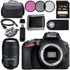 The PixelConnection Is an Authorized Nikon USA Dealer Nikon D5600 DSLR Camera (Body Only) Nikon AF-S DX NIKKOR 55-300mm f/4.5-5.6G ED VR Lens