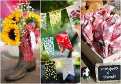 20 ideias de decoração para Festa Junina