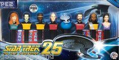 PEZ Star Trek The Next Generation Gift Set