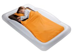 We loved this bed! Tuckaire Toddler Travel Bed