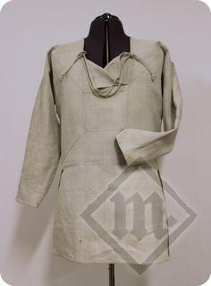 All Hand Made Viking Viborg Shirt neck open