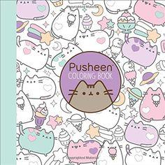 Pusheen Coloring Book by Claire Belton https://www.amazon.com/dp/1501164767/ref=cm_sw_r_pi_dp_x_MhmjybHWZDVJ7