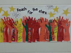 Second Grade Nest: Reach for the Stars Display