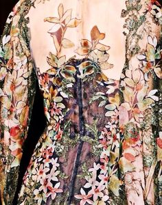 For the people who try to argue with me that fashion isn't art - you are wrong.   Valentino Haute Couture 2012