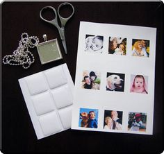 How to make instant photo jewelry