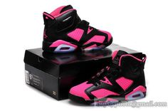 b8c0170a3121d9 Women s Air Jordan 6 AJ6 Basketball Shoes Pink Strip Injecting Hole Cheap Authentic  Jordans