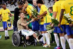 Jakson Follmann, who lost his right leg in a crash that killed most of his Chapecoense teammates, is starting to walk again as his old team has resumed play.