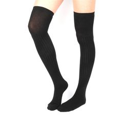 Stylish Long Over The Knee Socks forWomen Material : It these over the knee socks are made of a luxurious mix of natural fibres : Cotton 90% + Spandex 5% + Poly&Nylon 5% Why don't you get the look of tights without an uncomfortable waistband in over the knee socks that feature Tight Long One Size Fit, Women's Shoe US 5~9 / UK 2.5~7 / EU 35~39 / 220~260mm Handy Wash With Cold Water, Use Mild Detergent. Lay Flat Dry, No. Bleach, No Tumble Dry