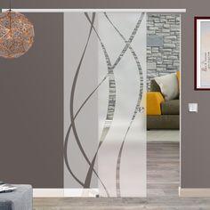 Soft Close SlimLine Selbsteinzug Glasschiebetür Glas Schiebe Tür BM6-ASE | Heimwerker, Fenster, Türen & Treppen, Türen | eBay!