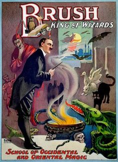 14 Bedazzling Posters From The Golden Age Of Magic | Co.Design | business + design