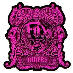 Fox Sticker - Fox Chaotic Day Glo Pink - Just bought this. Informations About Shop hundreds of Fox Racing Tattoos, Fox Racing Logo, Fox Logo, Pirate Skull And Crossbones Tattoo, Fox Racing Clothing, Rock Style, Rock Chic, Chanel Wallpapers, Harley Davidson Wallpaper
