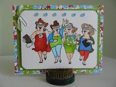 Uptown Girls -Art Impressions