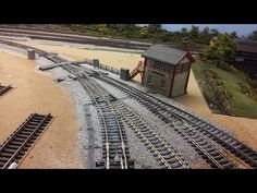 Building a Model Railway - Part 3 - Track Laying - YouTube