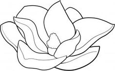 """Learn How to Draw a Magnolia FREE Step-by-Step Online Drawing Tutorial , Flowers, Pop Culture free step-by-step drawing tutorial will teach you in easy-to-draw-steps how to draw """"How to Draw a Magnolia"""" online., Added by Dawn, May am Painting & Drawing, Watercolor Paintings, Online Drawing, Flower Coloring Pages, Magnolia Flower, You Draw, Learn To Paint, Painting Techniques, Painting Inspiration"""