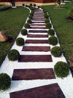 42 DIY Garden Walkway Projects For Your Inspirations - Possible Decor