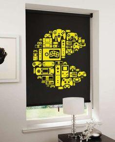 #NerdWeek ! Pac Man Blinds