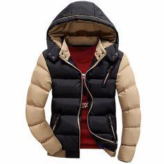 35062a8c88b Stylová pánská zimní bunda s odepínatelnou kapucí černá – VELIKOST – L Na  tento produkt se