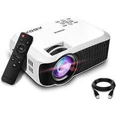 From Video Projector 2400 Lumens Abox Led Mini Video Projectors Support Input Portable Mini Home Cinema Led Projector 800480 Resolution For Pc Laptop Smartphone Xbox And Android Tv Box Gaming Projector, Outdoor Projector, Best Projector, Movie Projector, Portable Projector, Best Home Theater, Home Theater Setup, Home Theater Speakers, Home Theater Projectors