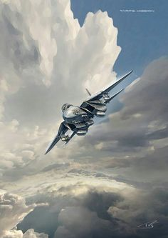 Us Military Aircraft, Military Vehicles, Fighter Aircraft, Fighter Jets, The Art Of Flight, F14 Tomcat, Aircraft Design, Aviation Art, Air Force